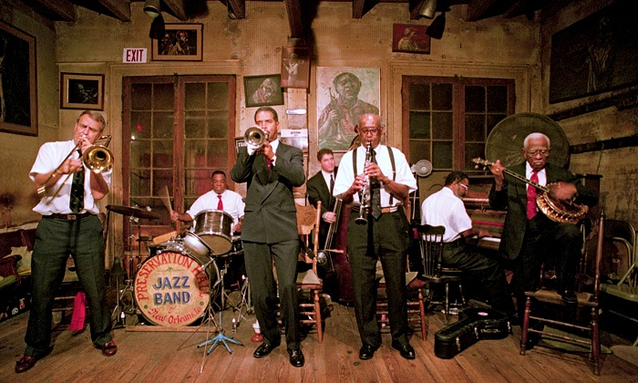 "Preservation Hall Jazz Band presents ""Creole Christmas"" - Majestic Theatre: Preservation Hall Jazz Band presents ""Creole Christmas"" on December 11 at 7:30 p.m. (Up to Half Off)"