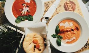 KRYM Art & Grill: 5-daniowe (od 79,99 zł) lub 7-daniowe (od 99,99 zł) menu degustacyjne dla 2 osób i więcej w Krym Art & Grill (do -44%)