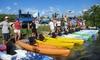 Adventures Kayaking - Urban Estates: Three-Hour Kayak Rental for One or Two at Adventures Kayaking (Up to 31% Off)