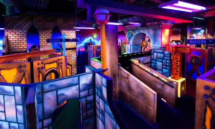 Two Laser Tag Sessions for Two, Four, or Six People plus $10 Arcade Card at (Up to 56% Off)