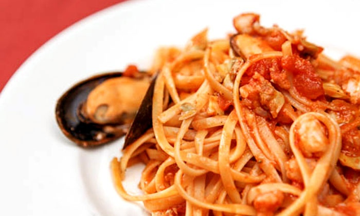 Pan D'Olive - Franz Park: $22 for $40 Worth of Italian-Mediterranean Dinner at Pan D'Olive
