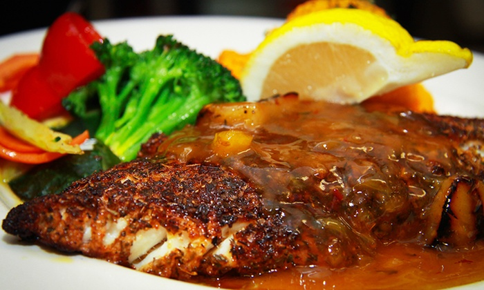Stayners Wharf Pub & Grill - South End: Seafood, Pub Cuisine, and Drinks at Stayner's Wharf Pub & Grill (Up to 50% Off). Three Options Available.
