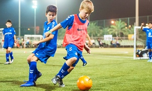 SoccerKids Dubai: Up to Four Weeks of Summer Football Camp from SoccerKids Dubai (Up to 53% Off)