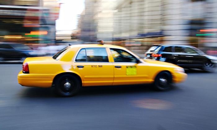 Cheap taxi in downtown Sacramento