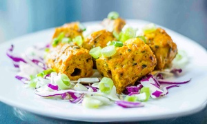 Raaga Restaurant & Lounge: Indian Cuisine for Dinner or Lunch at Raaga Restaurant & Lounge (42% Off)