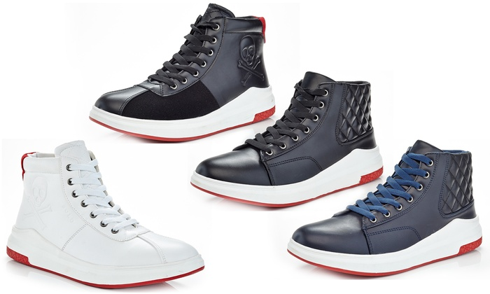 Solo Men's High Top Fashion Sneakers