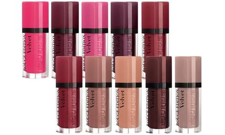 5 rouges à lèvres Rouge Edition Velvet de Bourjois, pack au choix