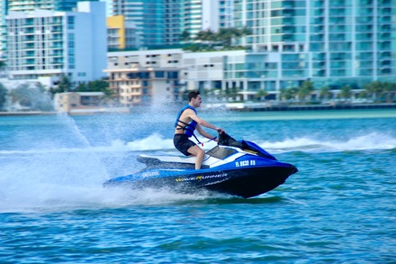 Up to 84% Off on Jet Skiing at Venture Water Sports