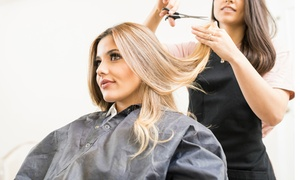Divas Of London: Wash, Cut and Blow-Dry Plus Optional T-Section Highlights or Full Head Colour at Divas Of London (Up to 60% Off)