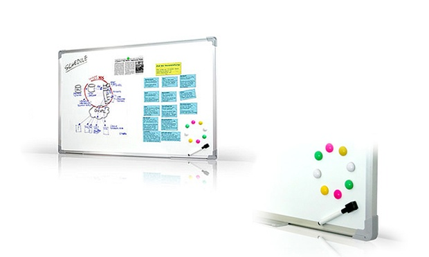 whiteboard magnettafel groupon goods. Black Bedroom Furniture Sets. Home Design Ideas