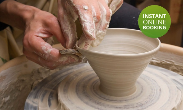 Potters Place - Potters Place: Three-Hour Beginners Pottery Class from R175 for One at Potters Place (Up to 54% Off)