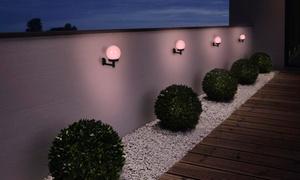 Set de 3 appliques murales de jardin à LED