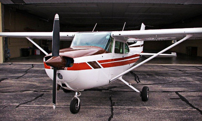 Champion City Aviation - Multiple Locations: Discovery or Ultimate Flight Package with Flying Lessons and Logbook at Champion City Aviation (Up to 53% Off)