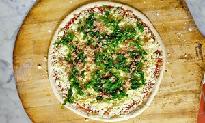 Pizza And Italian Food At Doughboys Wood Fired Pizza (up To 50% Off). Four Options Available.