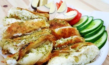 בורקס בכר העגלה הידוע, סניף הדגן: ארוחת בורקס פינוקים עם ביצה ומיץ רק ב 18 ₪! אופציה לקינוח. כולל סופש, בשישי כל הלילה