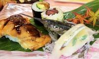 【最大34%OFF】食材を活かし、匠の技が光る逸品≪先付・寿司・蒸物など昼の部コース/他1メニュー≫ @京・寿司おおきに