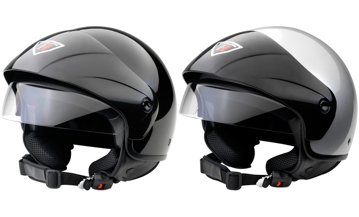 Casco Jet Bomber Touring disponibile in 2 colori