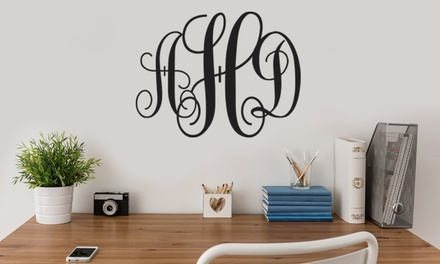 One or Two Personalized Wall Decals from Monogram Online (Up to 47% Off)