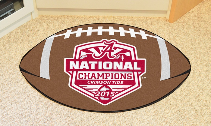 NCAA 2015 National Champs Alabama Football Floor Mat