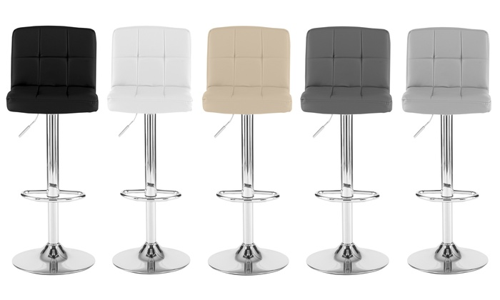 Two or Four Cube Bar Stools