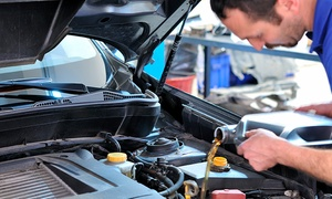 Lubricentro Los Amigos: Cambio de aceite mineral, semisintético o sintético + filtro+ limpieza de motor en Lubricentro Los Amigos