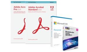 Pack de 3 logiciels : Adobe Standard ou Pro avec Office et Bitdefender