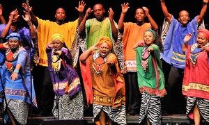 Concertbüro Franken: 2 Tickets für Soweto Gospel Choir am 02.01.2017 um 20 Uhr in der Meistersingerhalle Nürnberg (bis zu 50% sparen)