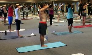 Bikram Yoga Rolling Meadows: $49 for 10 Drop-In Classes at Bikram Yoga Rolling Meadows ($130 Value)
