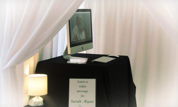 Our Memory Maker - Philadelphia: Video-Booth Rental from Our Memory Maker (Up to 53% Off)