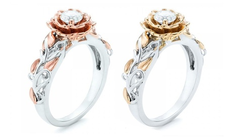 Anello Luxury cristallo Swarovski®