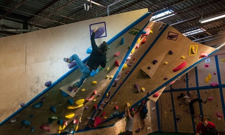 Indoor Climbing Day Passes for One, Two, Four, or Six at The Boulder Yard (Up to 45% Off)