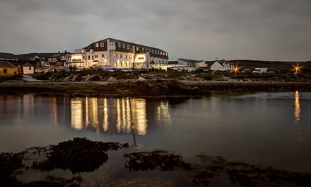 Isle of Arran: 1 or 2 Nights with Sparkling Wine