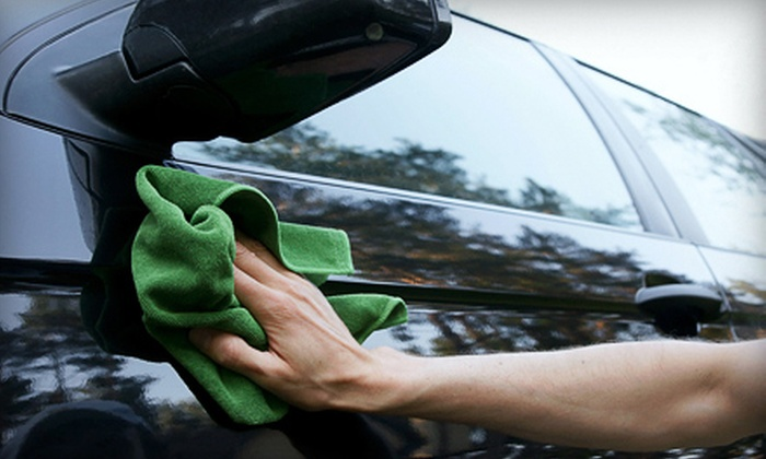 World Class Wash - Edmonton: C$49 for Mobile Hand Car Wash and Light Wax from World Class Wash (C$150 Value)