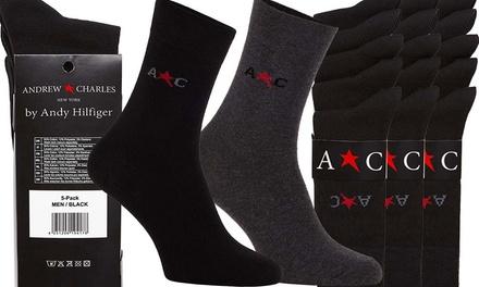 Pack de 15 paires de Chaussettes de la marque Andrew Charles par Andy Hilfiger