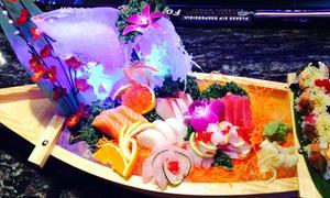Yuniku Endless Sushi & Hibachi: Sushi, Hibachi, and Drinks at Yuniku Endless Sushi & Hibachi (Up to 50% Off). Three Options Available.