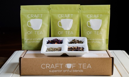 One, Three, or Six Signature Tea Boxes from Craft of Tea (Up to 57% Off)
