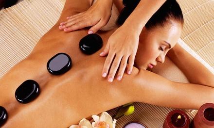 1 ou 3 massages aux pierres chaudes dès 29,99 € chez Esthetique Angelika