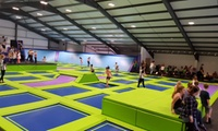 One-Hour Jump Access for Up to Four at Rebound Ashby (25% Off)