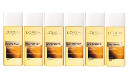 $26 for a Six-Pack of Loreal Age Perfect Anti-Fatigue Lotion 200ml (Don't Pay $62.70)