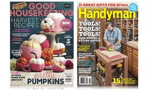 Good Housekeeping or The Family Handyman Magazine: One-Year Subscription to Good Housekeeping or The Family Handyman Magazine (Up to 37% Off)