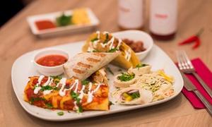 Mamasitas: Teksas, Meksyk i Ameryka na talerzu: 2-daniowa uczta dla 2 osób za 77,99 zł i więcej opcji w Mamasitas (do -35%)