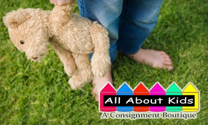 All About Kids - Central Pasco: $15 for $30 Worth of Children's Clothes, Toys, Furniture, and Equipment at All About Kids in Lutz