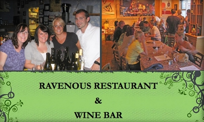 Ravenous Restaurant and Wine Bar - New Tacoma: $15 for $30 Worth of Fresh Bistro Cuisine and Wine at Ravenous Restaurant and Wine Bar in Tacoma