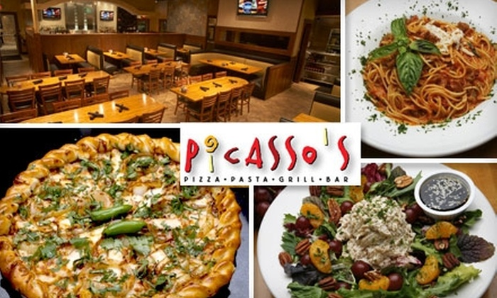 Picasso's  - Multiple Locations: $10 for $20 Worth of Pizza, Pasta, Sandwiches, and More at Picasso's