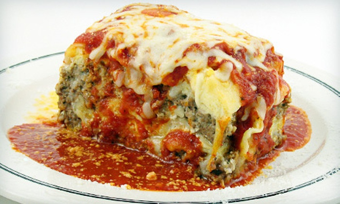 Cinelli's Pizzeria & Restaurant - North Hills: $10 for $20 Worth of Authentic Italian Cuisine at Cinelli's Pizzeria & Restaurant
