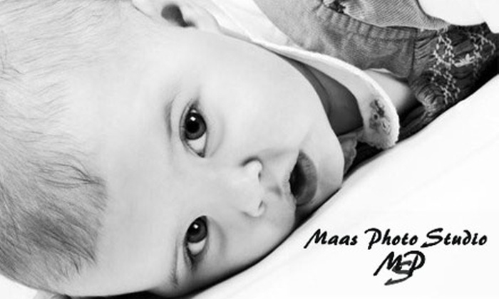 Maas Photo Studio - Sioux Falls: $40 for a One-Hour Photo Session and Five Edited Images from Maas Photo Studio (Up to $160 Value)