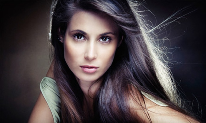 Blanc Hair Salon - Uptown: $119 for a Brazilian Blowout at Blanc Hair Salon (Up to $350 Value)