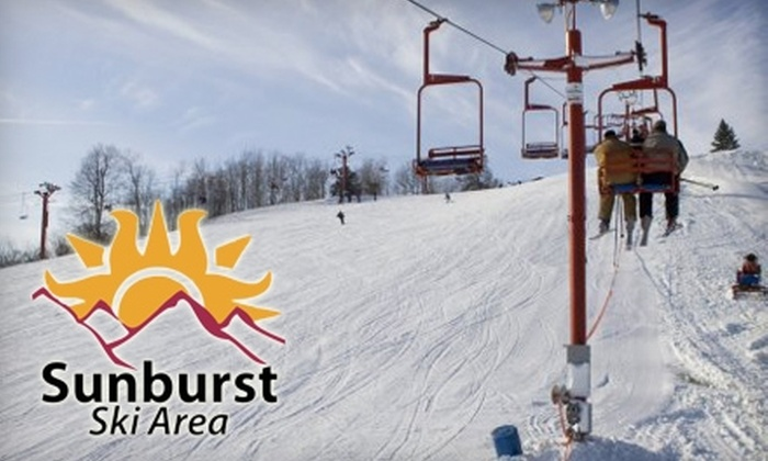 Sunburst Ski Area - Milwaukee: $26 for Two Night Session Lift Tickets ($60 Value) or $15 for Two Tubing Passes ($30 Value) at Sunburst Ski Area in Kewaskum