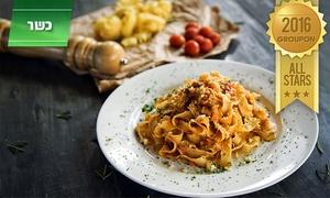 """pep'e- מסעדה איטלקית עם שפם: Pep'e האיטלקית בב""""ש: ארוחה משובחת לזוג החל מ-89 ₪ בלבד! שלל עיקריות שוות לבחירה, אופציה לקינוח וליין. גם בשישי ובמוצ""""ש"""