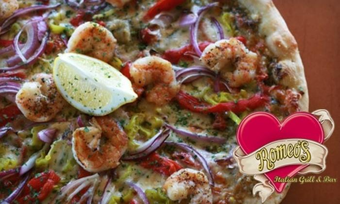 Romeo's Italian Grill & Bar - Zilker: $12 for $25 Worth of Italian Fare at Romeo's Italian Grill & Bar